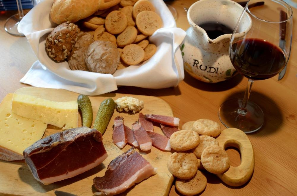 Urlaub mit Frühstück Halb- oder Vollpension: Verpflegung auf dem Schoberhof