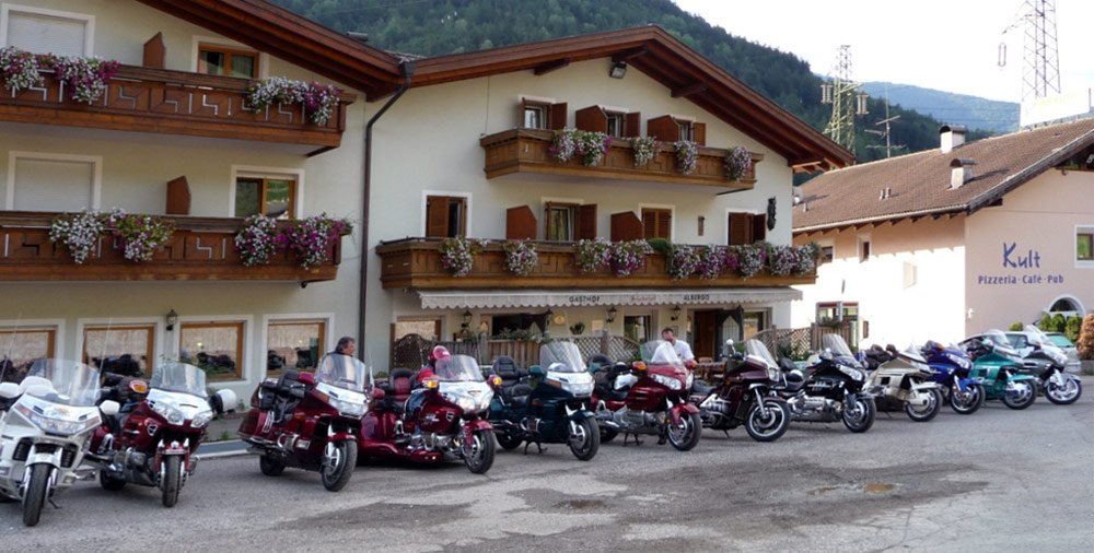 Schoberhof at Felthurns: the motorcycle hotel in South Tyrol