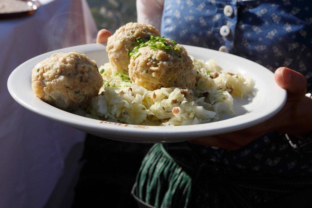 Tyrolean and Italian cuisine