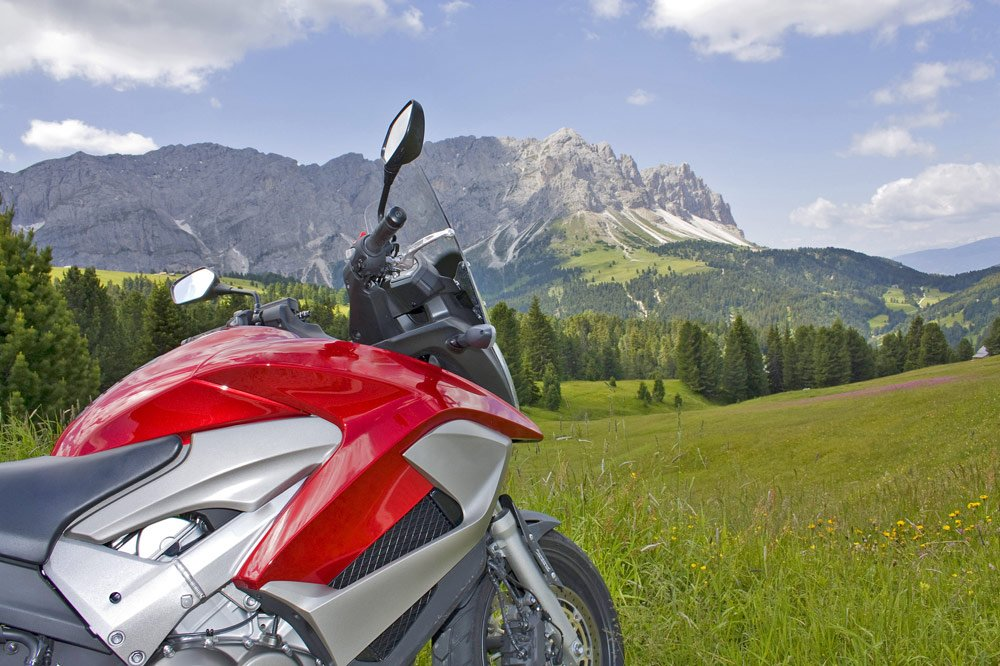 Motorcycle holiday in South Tyrol: unlimited fun in the mountain