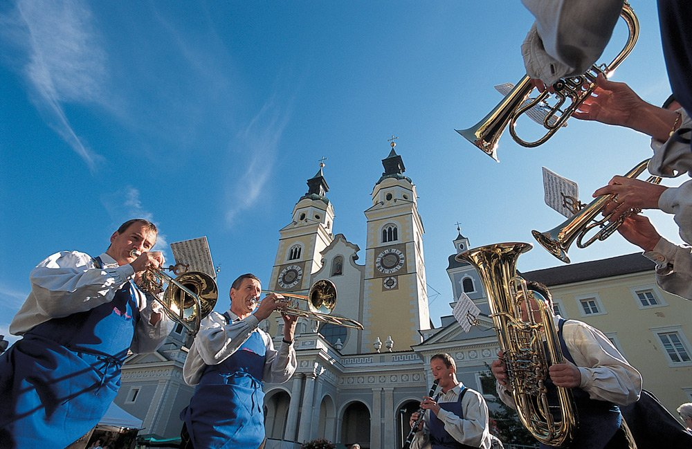Attractions in the city center of Brixen