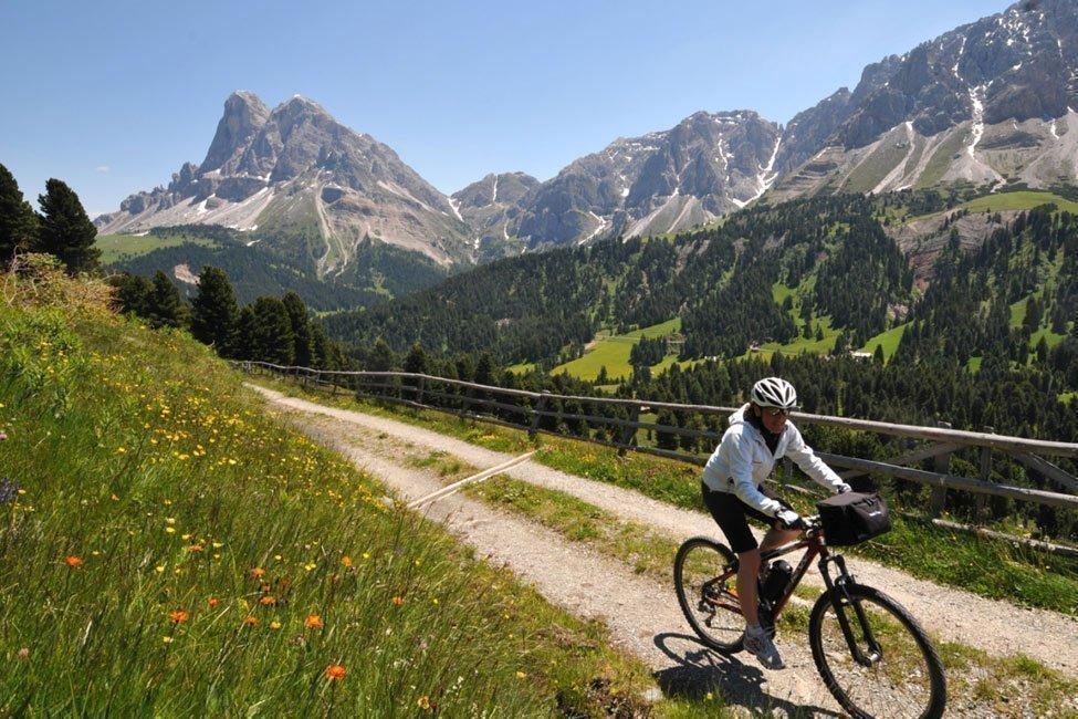 Vacanza in bicicletta nel Bikehotel in Alto Adige